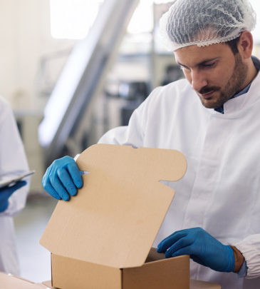Inspección de Envases, Empaques, Embalajes y Productos Terminados